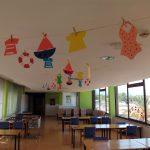 Menjador del centre decorat